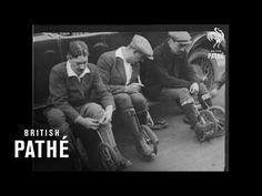 In my day we used to use cycle-skates instead of rollerblades! Film reveals 1920s trend of strapping small bike wheels to feet   Daily Mail Online