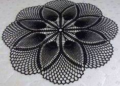 Diy Crafts Images, Diy Crafts New, Diy Crafts Crochet, Crochet Art, Crochet Motif, Vintage Crochet, Crochet Thread Patterns, Crochet Tablecloth Pattern, Crochet Stitches Free