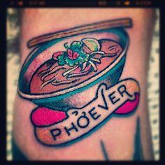 Ha! this just makes me laugh. #tattoo #food #foodtattoo