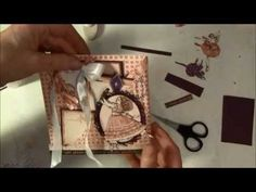 How to make a criss cross pocket envelope card