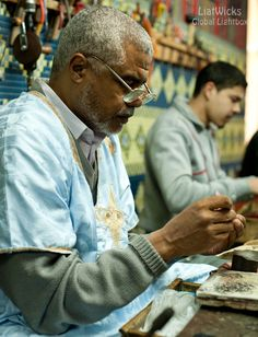 Former silver capital of Morocco. This was an amazing master silversmith teaching his apprentices how to make intricate jewelry under harsh lighting conditions. Trip Planning, Morocco, Landscape Photography, Teaching, How To Plan, Couple Photos, Lighting, Amazing, Silver