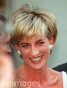 June 23, 1997: Diana, Princess of Wales attends a private viewing of her dresses to be auctioned at the famous auction house Christie's in New York. New York, USA.