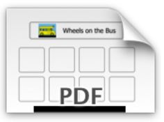 This is a fun activity that you can use with any child that you are training in PECS.  Sing Wheels on the Bus to the child and have the child choose a picture from the board to give to you.  Then sing that part of the song!  If you like this product you will love these boards for 'Old Macdonald' and 'If you're happy and you know it'!Please review and comment :) _______________________________________________________The Picture Communication Symbols 19812010 by Mayer-Johnson LLC.