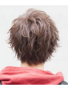 Shaggy Short Hair, Messy Short Hair, Short Hair Cuts, Short Hair Styles, Japanese Hairstyle, Lgbt, Haircuts, Hairstyles, Pixie Cuts
