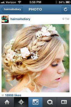 Irish wedding braid