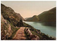 Telemarken. #vintage photochrom postcard images