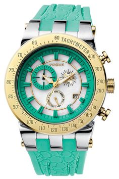 Green vogue watch.