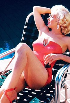 Marilyn Monroe photographed by Harold Lloyd, 1953,