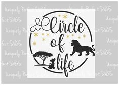 Excited to share this item from my shop: lion king svg // circle of life // disney svg // cricut // disney vacation shirt Disney Vacation Shirts, Disney Tees, Disney Diy, Disney Vacations, Walt Disney, Lion King Nursery, Lion King Theme, Lion King Shirt, Lion King Birthday