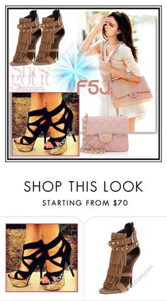 """""""FSJshoes - 7"""" by dzemila-c ❤ liked on Polyvore featuring Nicholas Kirkwood, Chanel, fsjshoes and fsj"""