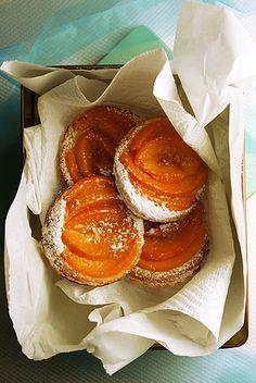 peach pastries