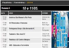 BlogdoLira: Próxima Rodada do Paulista de Futebol Feminino 201...