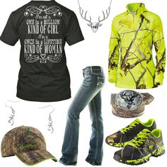 Once In A Lifetime Lime Camo Outfit - Real Country Ladies