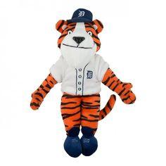 Detroit Tigers Paws Mascot At Campus Den