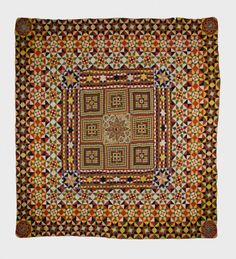 """"""" Did you see our Crimean War quilt at the Tate Britain folk art show (or even here! Antique Quilts, Vintage Quilts, Museum Art Gallery, Queer As Folk, Maker Culture, Tate Britain, Medallion Quilt, Star Quilts, Scrappy Quilts"""