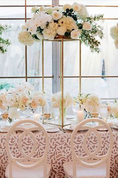 Gorgeous Tall Wedding Centerpieces ❤ See more: http://www.weddingforward.com/tall-wedding-centerpieces/ #weddings