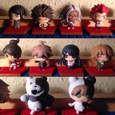 Half of the cast of DanganRonpa in figure form #LeonKuwata from #DanganRonpa #TriggerHappyHavoc #GoodbyeDespair #UltraDespairGirls #Manga #Anime #Otaku
