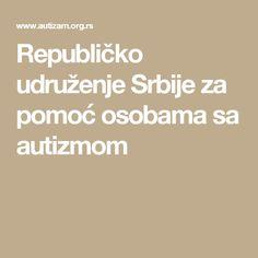 Republičko udruženje Srbije za pomoć osobama sa autizmom
