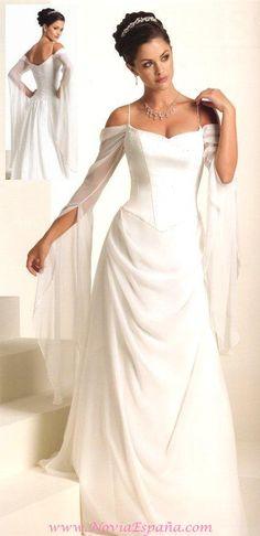 Vestido de estilo medieval