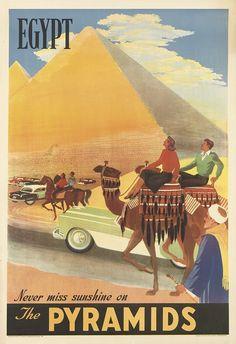 Egypt.....vintage travel poster