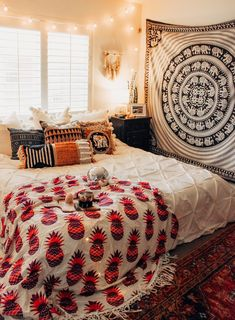 Indian Wall Hanging Mandala Tapestry Beach Throw Rug Bed Sheet Camping Tent Travel Mattress Bohemian Sleeping Pad Tapestry Demand Exceeding Supply Home & Garden Bedding