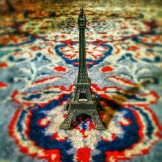 Souvenir. #Paris #EiffelTower #Monument #France #Model #Colors