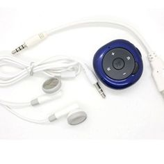 Blue 2GB Memory Multimedia Pebble MP3 Music Player