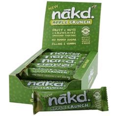 Nakd Crunch Bars | Nakd - Official Trade Sports Nutrition Distributor | Shop by Brand - All of the biggest brands at trade prices from the UK's Number 1 Sports Nutrition Distributor | Tropicana Wholesale
