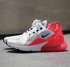 958a91f1bd8e Nike Air Max 270 White Ultramarine Solar Red AH6789-101
