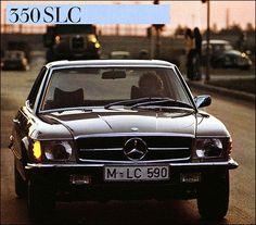 Mercedes Slc, Classic Mercedes, Mercedes Benz Cars, Ford Capri, Daimler Benz, Classy Cars, S Class, Super Cars, Cool Pictures