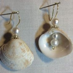 Basket Lucina Shell jewelry by MariMae Collection /// 3rdRevolution SOLD