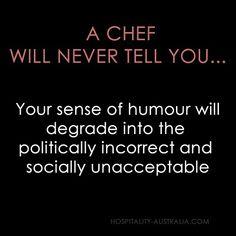 Hospitality Australia: chefs' sense of humour
