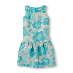 The Childrens Place - Glam up her style with this jacquard dress!