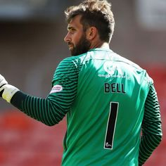 Dundee United goalkeeper Cammy Bell saves hat trick of penalties