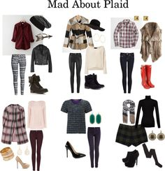 Senior Style – {Mad About Plaid}