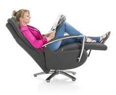 Sit back and relax in our Monza relaxchair