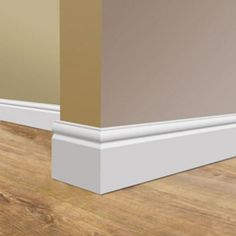 Fantastic range of easy to install, lightweight skirting boards. Flexible skirting for curved walls and bay windows. Torus Skirting Board, Wooden Skirting Board, Plafond Staff, Baseboard Styles, Baseboard Ideas, Orac Decor, Base Moulding, Baseboard Molding, Moldings