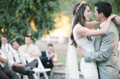We love to see pretty brides wearing Odette, congrats Brittany and Anthony!