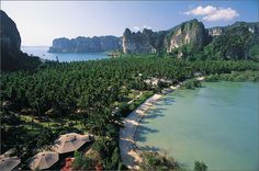 Thailand. It would be cool to go there. Gorgeous.