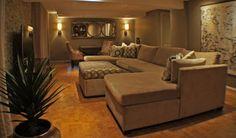 Basement Renovation Gatineau - contemporary - basement - ottawa - by Bernacki & Beaudry Design Corp.