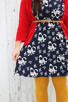 perfection #smileandwave #mustard tights