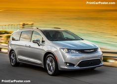 Chrysler Pacifica 2017 poster, #poster, #mousepad