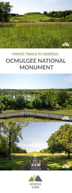 Hike the Ocmulgee National Monument in Macon, GA, exploring the park's ancient Native American mounds and a wildlife-filled wetland. Federal Parks, New Adventures, Outdoor Adventures, United States Travel, Hiking Trails, Outdoor Activities, Day Trips, State Parks, Places To See