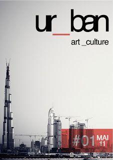 Création Sepulchre Antoine: Mise en page d'un magazine + Création logo URBAN