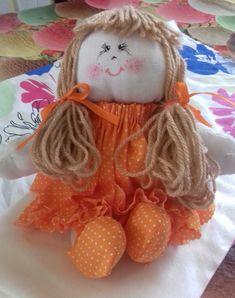 BONECA SOFIA!!!  Presente ´para uma Bebê!! Molde adaptado da Boneca Cozinheira!!!