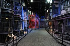 Warner Bros. Studio Tour London- The Making of Harry Potter : A must for any fan of the film series, this tour takes visitors through some of the most iconic locations seen in the Potter franchise, from Dumbledore's office to the shops of Diagon Alley.