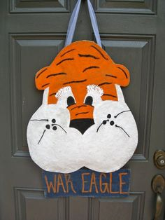 Auburn Door Hanger