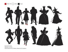 wizard of oz silhouette - Google Search