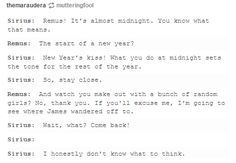 The Marauders - The New Year resolutions   Harry Potter!