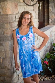Hawaii Dress  Beach Cover Up  Resort Wear  by PetrinaBlakely